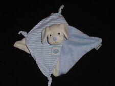 Sterntaler Hund Harry blau weiß klein Kuscheltier Schmusetuch 031 top