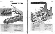 Douglas C-133 Cargomaster 1960's rare detailed manual archive period detail
