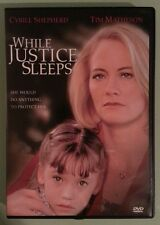 cybill shepherd  WHILE JUSTICE SLEEPS  tim matheson   DVD genuine region 1