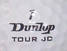 JOHN DALY TOUR JD DUNLOP #1  SIGNATURE LOGO GOLF BALL