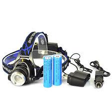 Good 5000LM XML T6 LED Head Torch Headlamp Headlight 18650 Battery ON FF