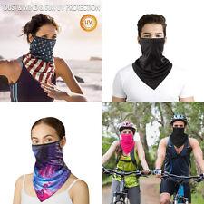 1Pack(3pc) Balaclava Neck Gaiter Head Face Mask Neck Tube Bandana Scarf Headwear