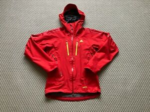 Adidas Terrex 3 Layer Gore Tex Pro Jacket Red S / Small RRP £400