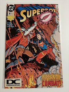 Superboy #3 DC Universe Logo Cover Variant - Lots of Pics!