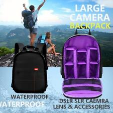 Waterproof Photography Camera Video Bag Case Backpack for Canon Nikon DSLR SONY