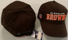 NFL CLEVELAND BROWNS ONFIELD TOUCH FASTENER ADJUSTABLE NFL SIDE LOGO CAP REEBOK