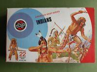 VINTAGE AIRFIX 1/32 AMERICAN WEST SERIES INDIANS 1973 BOXED (PART SET)