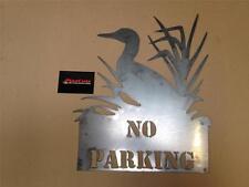 Aucun signe de métal canard parking plasma cnc coupe. custom articles disponibles de plazcutz.