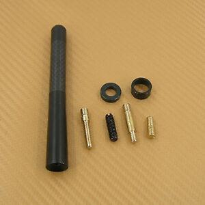"""Carbon Fiber Antenna Short Screw Type 4.7"""" fit For Suzuki Esteem Vitara 99-2002"""