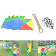 New Rainbow Windmill Wind Spinner Whirligig Garden Home Lawn Decoration Hot.