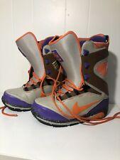 Nike Zoom Kaiju Snowboard Boots Orange Purple Mohap Rare Black 376276 Sz 9