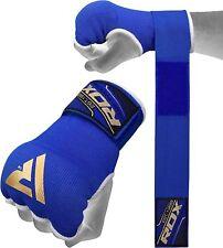Rdx Boxe Sous-gants de Fermeture Élastique M Bleu