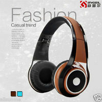 New Stereo Wired Headphones Earphone Headset HD Mic For Smartphone MP3/4 PC US