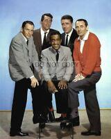 THE RAT PACK SINATRA, MARTIN, DAVIS, JR, LAWFORD, BISHOP - 8X10 PHOTO (AA-212)