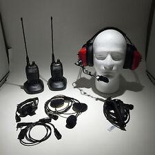 Noble Engineering 1+1 Racing Communitacion Radio System 5W UHF + VHF Dual Band