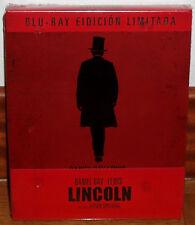 Lincoln Blu-Ray Steelbook Edizione Limitata Nuovo Biografico Drammatico (Mai) R2