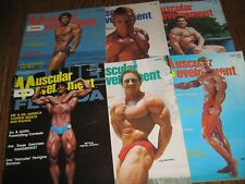 Lot Of 6 Muscular Development Bodybuilding Magazines/1983 COMPLETE YEAR