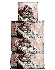 Bettwäsche mit Tiger 100% Baumwolle 2 tlg. 135x200 cm (80x80 cm)
