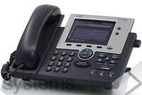 Cisco Unified IP Phone 7945 / CP-7945G VoIP-Telefon Gigabit-Ethernet Farbdisplay