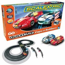 Scalextric C1323T QUICK BUILD Cops 'n' Robbers 1:32 Slot Car / Track Set