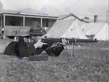 Vintage Foto Militar Rifle Pistola Shooter Gama Anzac Impresión del Arte Cartel BB12319B