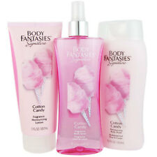Body Fantasies Cotton Candy Women 3 Pcs Set New in Box NIB