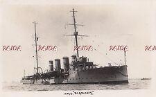 "Royal Navy RP Postcard. HMS ""Boadicea"" Scout Cruiser. Minelayer. Jutland.  1909"