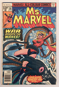 Ms Marvel #15 - Mystique Cameo - Marvel Comics