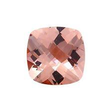 1.25CT 7mm Natural Cushion Cut Morganite Loose Gemstones