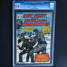 SGT. FURY and HIS HOWLING COMMANDOS #90 💥 CGC 9.8 - 1 OF ONLY 5! 💥 1971
