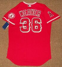 Jered Weaver Red Los Angeles Angels Authentic Jersey sz 48 Majestic New w/ tags