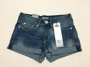 Denizen From Levis Shorts For Women 00 Blue NWT 83% Cotton 14% Polyester