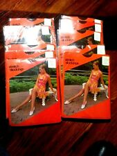 vintage stockings silky soft ultra sheer suntan size 11 lot of 10 pair