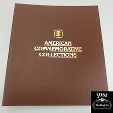 USPS BINDER AMERICAN COMMEMORATIVE COLLECTIONS 3 RING