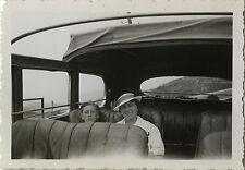PHOTO ANCIENNE - VINTAGE SNAPSHOT - TRANSPORT AUTOBUS BUS EXCURSION MODE AUTOCAR