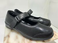 ORTHOFEET PAIN RELIEF WOMEN'S LEATHER MARY JANE SHOES OAKRIDGE  11.5 X- WIDE