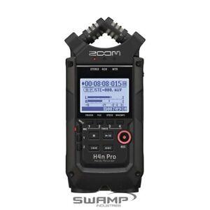 Zoom H4n PRO Handy 4 Track Channel Portable Digital Audio Field Recorder Black