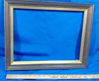 Picture Frame VTG Solid Wood Gold Photo Painting Mirror VTG 19x15, Opening 16x11