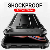 For OnePlus 7T Pro 7 Pro 6T 6 New Rugged Armor Hard PC+TPU Shockproof Case Cover