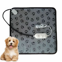 Pet Dog Cat Warmer Bed Heating Warming Blanket Electric Heat Pad Mat Waterproof