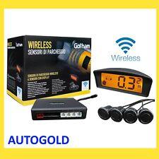 Renault CAPTUR kit 4 Sensori di Parcheggio auto WIRELESS senza fili Parking