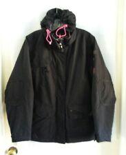 POWDER ROOM Black Sheep Winter Snow Ski Snowboard Waterproof Jacket Coat Women L
