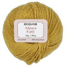 Heirloom Pure Alpaca Wool 8 Ply Yarn By Spotlight