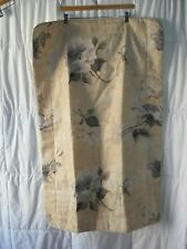 Croscill Concerto Floral Yellow White Rose French Script KING SIZE SHAM SINGLE