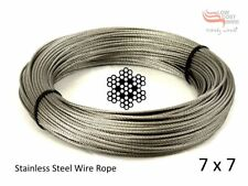 Pagola Wire - Stainless Steel 316 Marine 2.4mm 7X7 Use with DIY Kit CHEAPasCHIPS