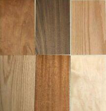 Domestic Wood Veneer Pack: Maple, Oak, Walnut, Mahogany, Cherry 60 pieces
