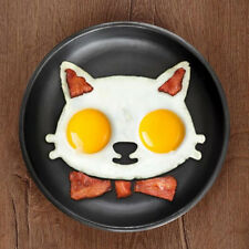 Cat Face Breakfast Fried Egg Mold Silicone Pancake Ring Shape Funny Cooking Tool