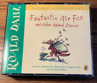 Roald Dahl Fantastic Mr Fox and Other Animal Stories Puffin Audiobooks