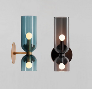 Indoor Wall Lamp Bar Glass Wall Light Bedroom LED Wall Sconce Deco Wall Lighting