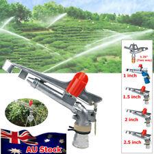 Irrigation Spray Sprinkler Gun Large Impact Area 360° Adjustable Water Garden
